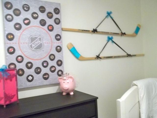 Bedroom Ideas Hockey 39 best kid's room images on pinterest | hockey stuff, hockey mom