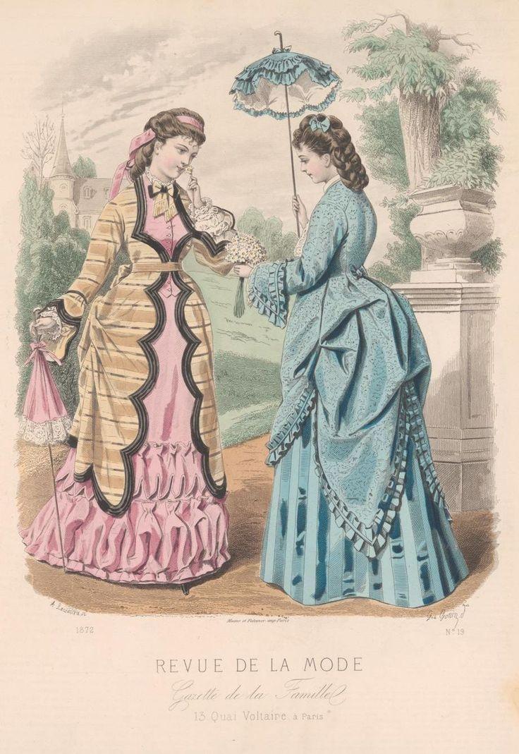 Revue de la mode 1872 1870s fashion 1 pinterest for Revue de www houseplans com