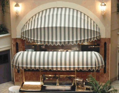 Commercial Building Awnings - Fabric, Shade & Restaurant Awnings |