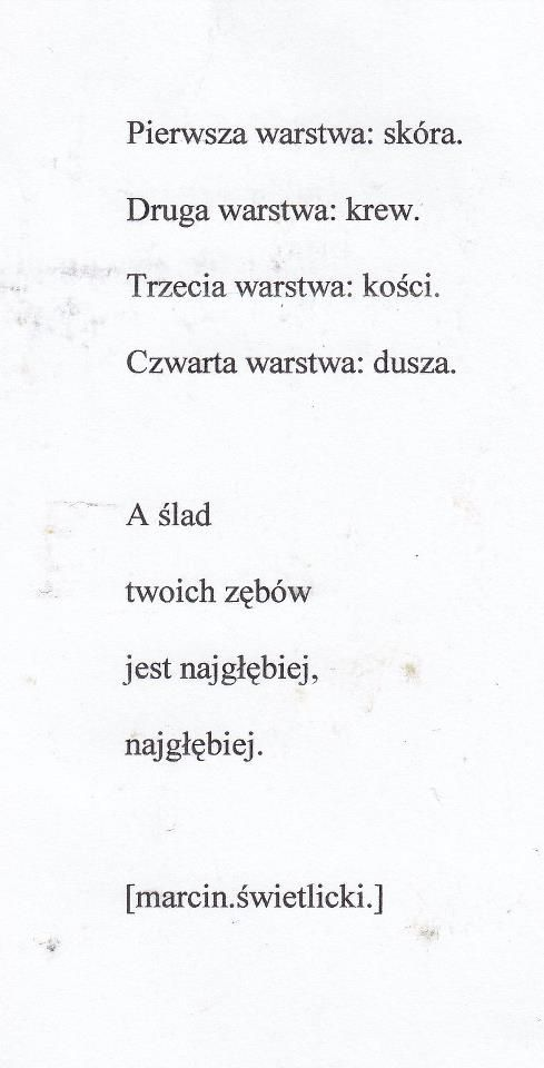 Marcin Świetlicki