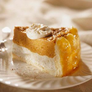 Vanilla pudding mix helps the pumpkin filling set up without any cooking in this make-ahead chilled dessert.
