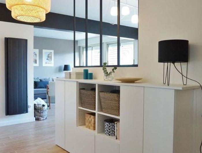 16 best s parateur de pi ces images on pinterest room dividers furniture and apartment office. Black Bedroom Furniture Sets. Home Design Ideas