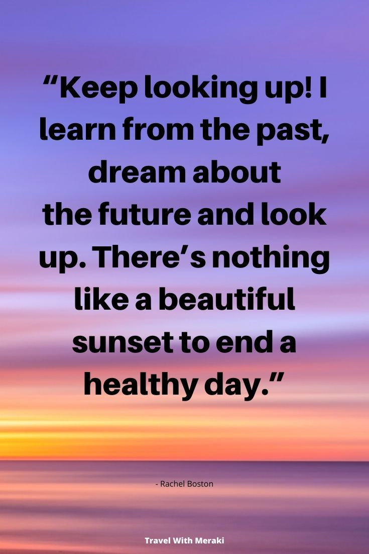 Quotes About Sunset Travel With Meraki Sunset Quotes Journey Quotes Sunset Captions For Instagram