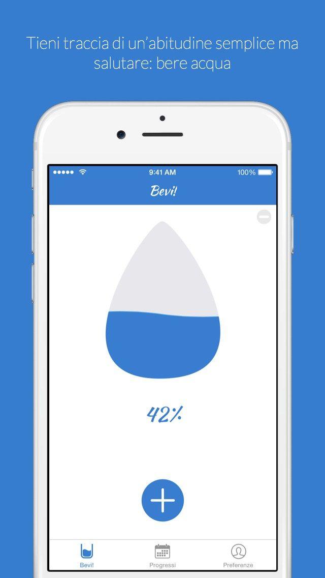 Gulps - Tieni traccia del tuo consumo giornaliero d'acqua iPhone
