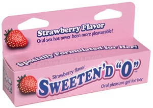 """Sweeten'd O Strawberry Oral Gel for Her  Specially Formulated for Her!    Make your next oral encounter sweeter with Sweeten'd """"O."""" Our topical gel is specially formulated to provide her with enhanced response and pleasure while providing him with the sweet taste of sensuous fruit. Simply apply the gel to any part of the body that you wish to sweeten and then have your lover lick it off    Sold at the Pleasure Place for php 880.00  — at Pleasure Place - Metrowalk.: Simply Apply, Pleasure Place, Oral Encounter, Femme Delights, Lover Lick, Sensuous Fruit, Encounter Sweeter, Enhanced Response"""