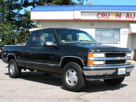 Used Truecar >> 1998 Chevrolet Silverado 1500 LS Club Cab 4x4 truck — $5995 | Cheap Cars For Sale | Pinterest ...