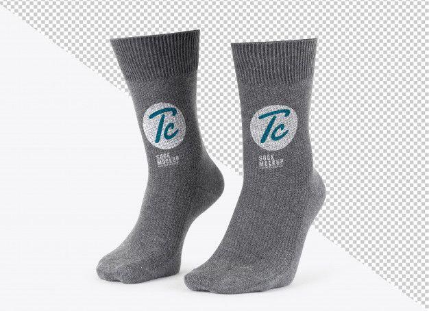 Download Blank Grey Socks Mockup Template For Your Design Mockup Template Grey Socks Summer Clothes Sale