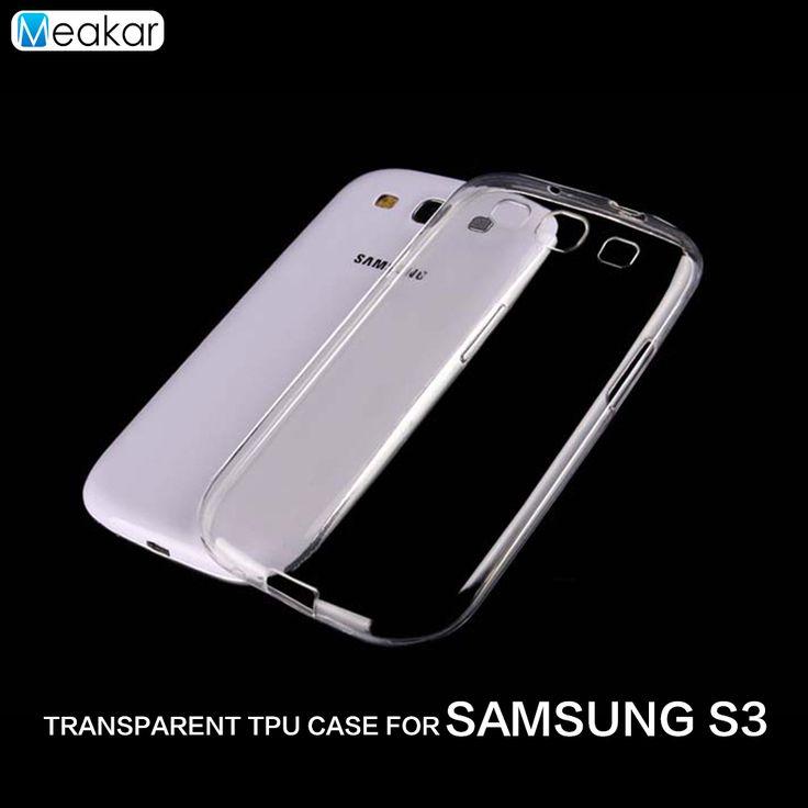 Transparent Soft TPU Silicon 4.8for Samsung Galaxy S3 Case For Samsung Galaxy S3 i9300 Cell Phone back Cover Case