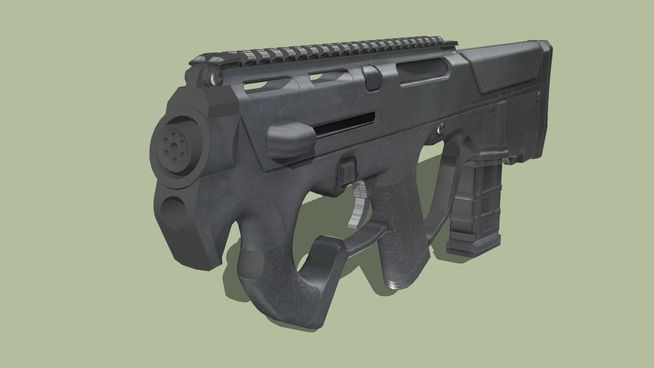 Large preview of 3D Model of magpul-pts-pdr-c