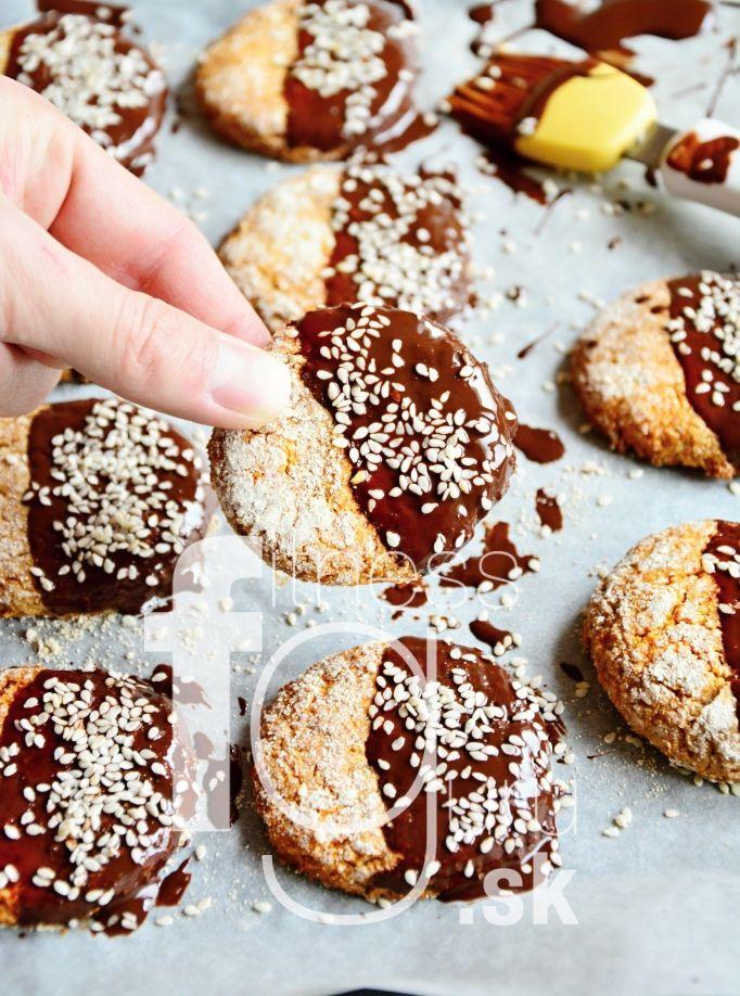 Krehké biscoff keksíky