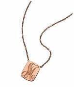 Ariel Gordon: Signet Dog Tag Necklace