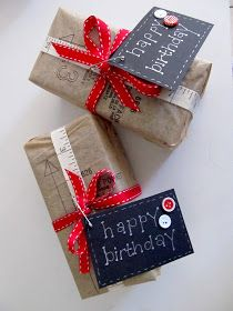 CHATTERBOX: Gift wrapping idea