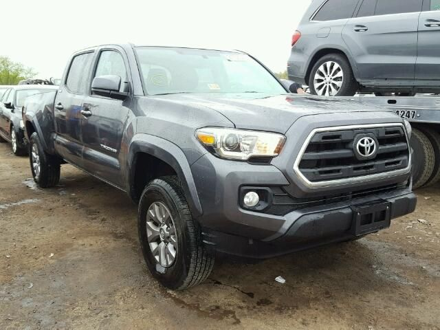 Salvage 2017 Toyota Tacoma Double Cab Pickup For Sale | Salvage Title