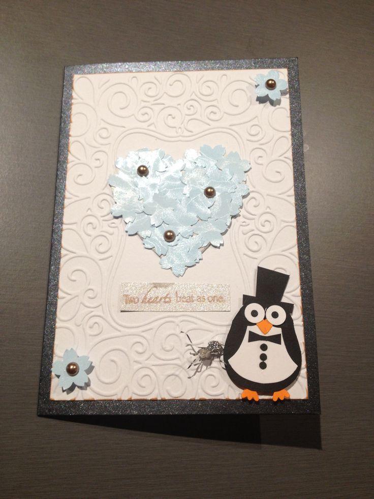 Shawn & Cherie's wedding card