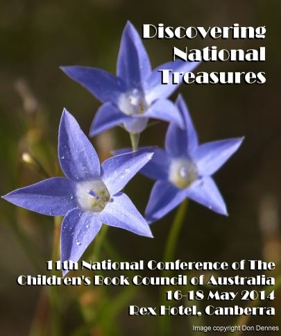 Children's Book Council of Australia National Conference, Discovering National Treasures, May 2014.