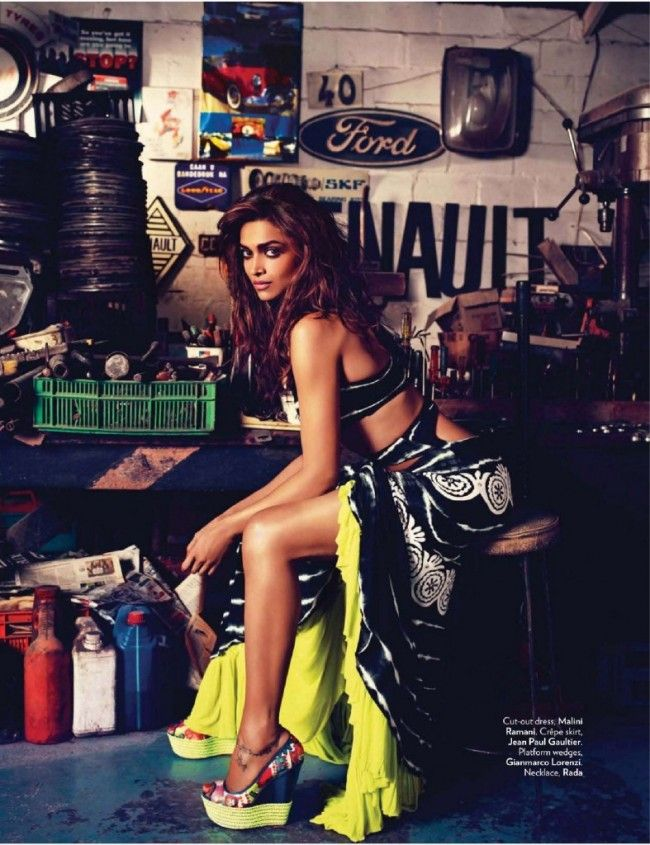 Deepika Padukone, Vogue India June 2012
