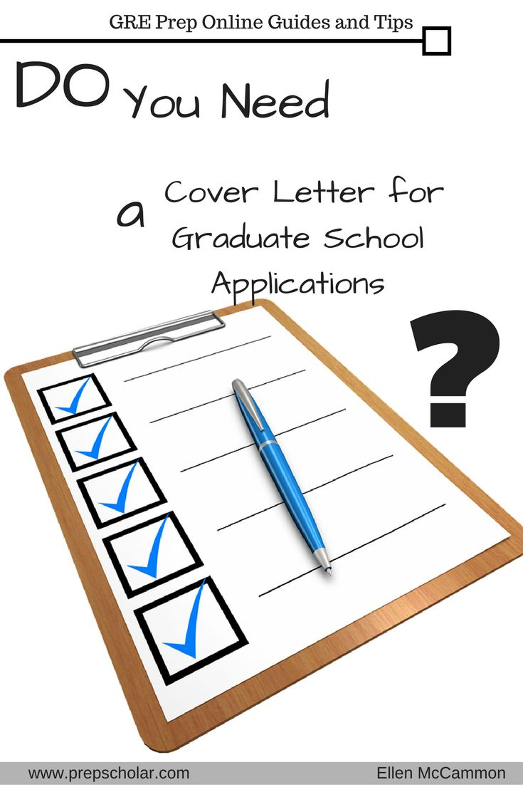 Applying to graduate school means getting together a lot of materials. Most likely, you'll need transcripts, letters of recommendation, a CV or resume, and a statement of purpose—but do you also need a cover letter for graduate school?