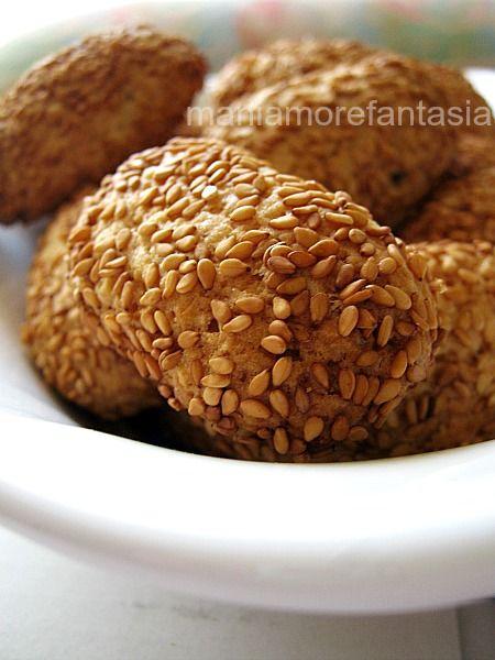 Biscotti reginella ricetta palermitana   ricetta biscotti col sesamo