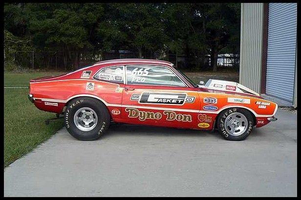 Mile Of Cars >> DynoDon's '70 ProStock Maverick, SOHC 427 2x4bbl V8/4speed   1/4 mile muscle   Pinterest   Ford ...