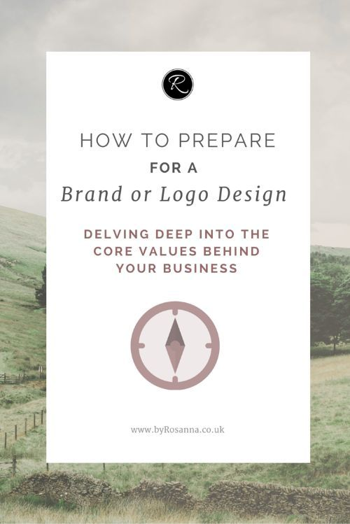 How to prepare for a brand or logo design (questions to ask yourself and things you should understand & be clear on yourself before getting a designer involved!)