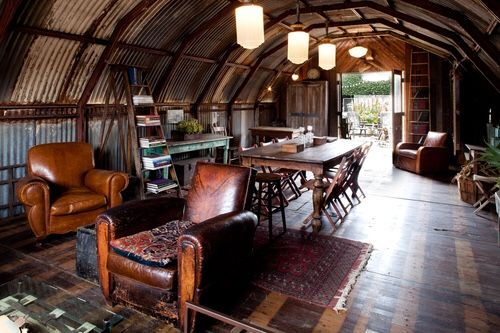 Metal Barn Homes >> This Old Stomping Ground   Garage Ideas   Quonset hut ...