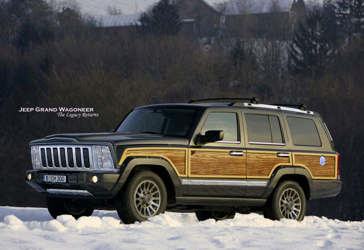 2019 jeep Grand Wagoneer   Jeep wagoneer, Jeep grand, Jeep