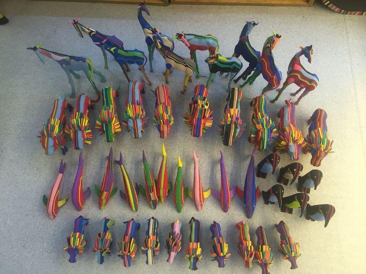 Flipflop sculptures