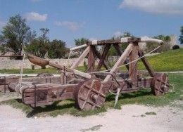 Roman Weaponry, Ancient Artillery & Siege Weapons, Catapults ...