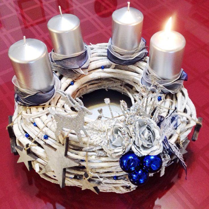 2016 Advent wreath.