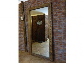 Zrcadlo borovicové Rustyk vertikální/horizontální