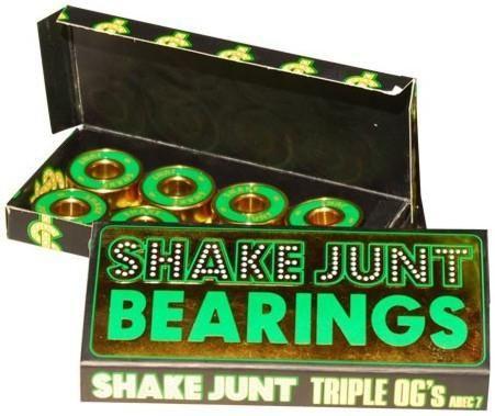 SHAKE JUNT TRIPLE OG'S A-7 Skateboard BEARINGS 1BSHJ0ABE700000