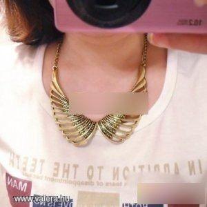 Divatos retro angyal szárny medálos nyaklánc - 400 Ft - Nézd meg Te is Vaterán - Bizsu nyaklánc - http://www.vatera.hu/item/view/?cod=1872189971