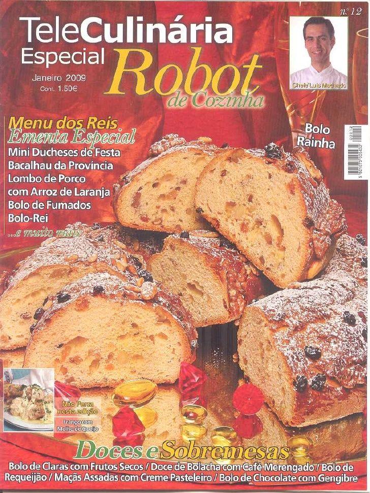 Receitas Robot De Cozinha N  12