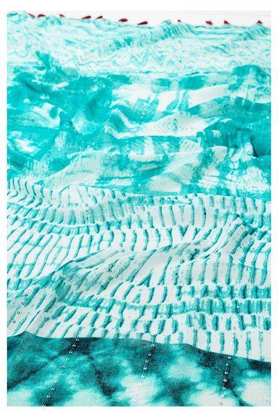 Fular Rectangle Splash Desigual. ¡Descubre la colección primavera-verano 2017!