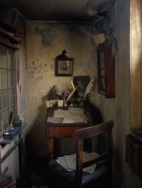dennis severs house // writing nook