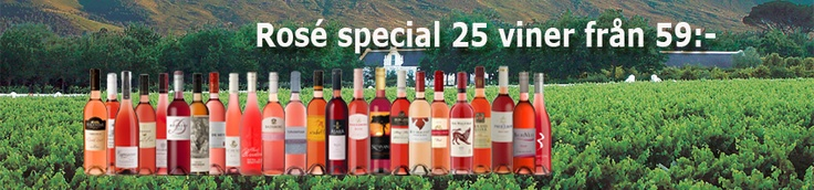 Lets not forget that summer is on its way in the northern hemisphere and that makes it time for Rose Wines - Enjoy!