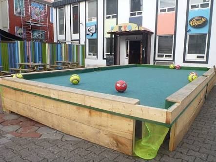 Soccer pool tables google search house stuff for How to build a billiard table