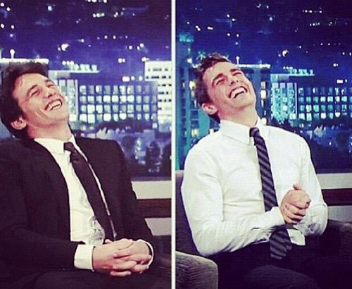 James and Dave Franco are probably the same person…