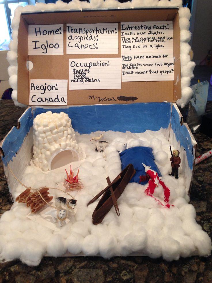 Inuit diorama