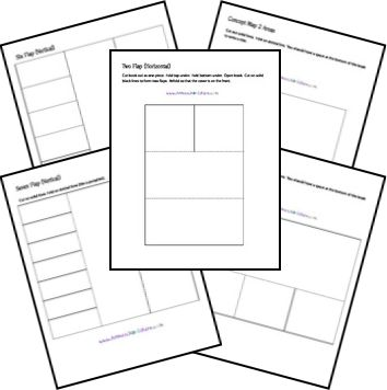 FREE TEMPLATES!!!!!Free Lapbooks and Free Templates, Foldables, Printables, Make Your Own Lapbook