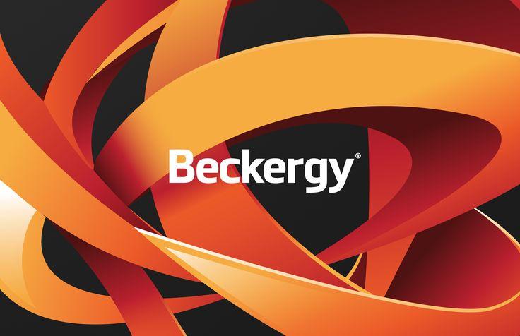 """Dai un'occhiata a questo progetto @Behance: """"Beckergy"""" https://www.behance.net/gallery/37071193/Beckergy"""