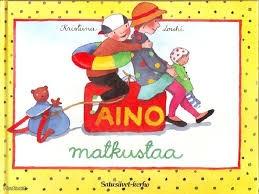 Aino books from Kristiina Louhi