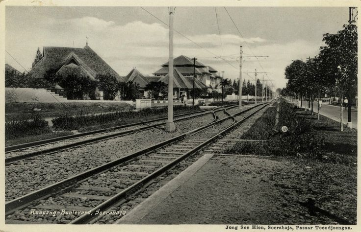 Koepang Boulevard Soerabaja, ca 1910