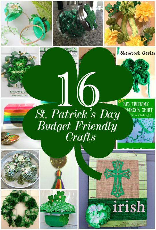 DIY St. Patrick's Day Centerpiece