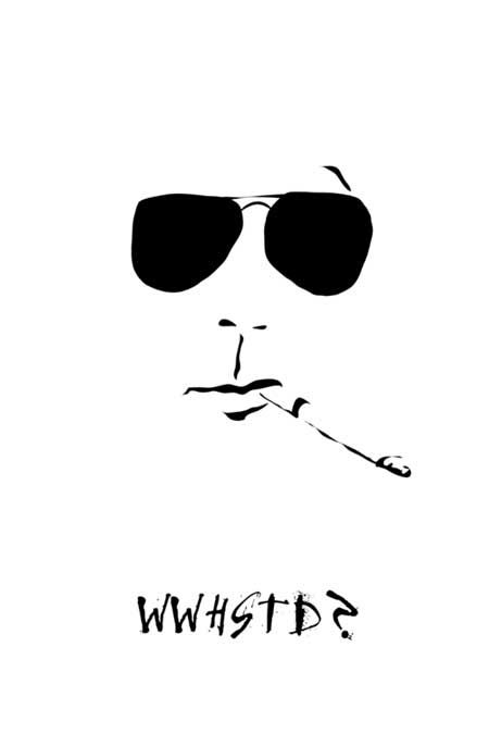 WWHSTD? Hunter S. Thompson portraits
