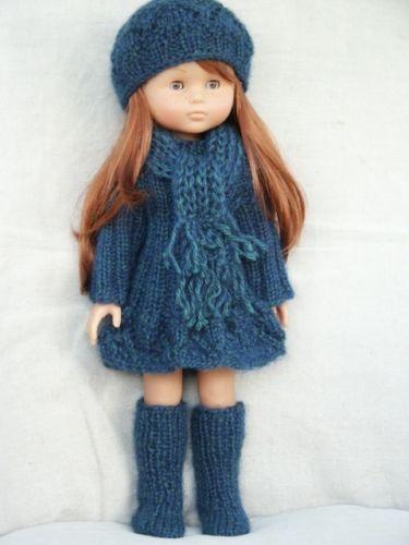 """vêtements pour poupée de 33cm """"les chéries de corolle ou paola reina"""