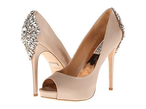 Badgley Mischka Kiara, love the shoe, not sure the bling on the back is necessary though.