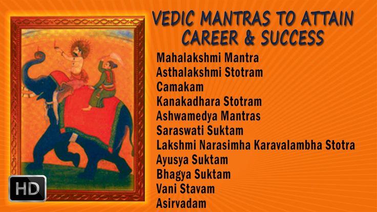 #Vedic #Mantras to Attain Career & Success - Dr. Thiagarajan