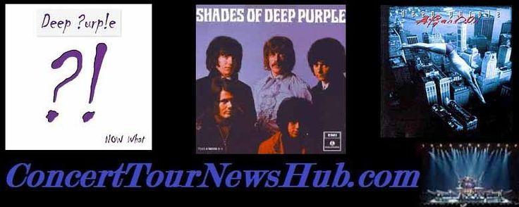 Deep Purple 2015 Summer Tour Schedule & Concert Tickets - Dates With Blue Oyster Cult, Nazareth, Black Oak Arkansas & Foghat - Updated @_DeepPurple @OfficialBOA @FOGHAT #MusicNews #TourSchedule