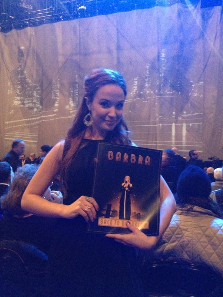 Sierra Boggess | Lucky Ducky, Saw Barbra And Whatnot.